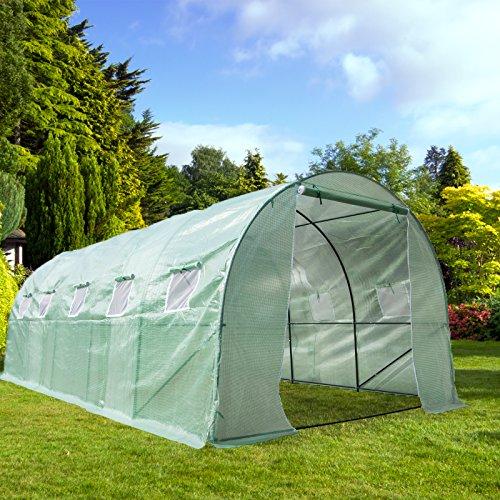 CASUN-GARDEN-Portable-Large-Walk-in-Tunnel-Greenhouse-Garden-Hot-House-with-Windows-0
