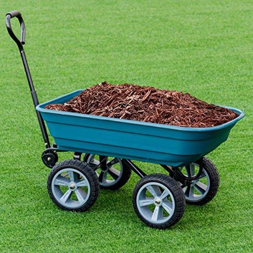 CHOOSEandBUY-Heavy-Duty-Garden-Dumper-Wagon-Carrier-Wheel-Barrow-Cart-0-0