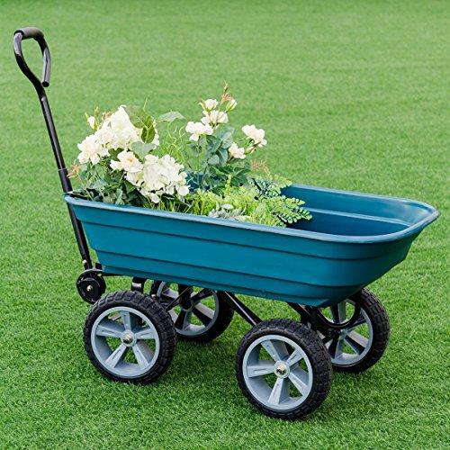 CHOOSEandBUY-Heavy-Duty-Garden-Dumper-Wagon-Carrier-Wheel-Barrow-Cart-0-1
