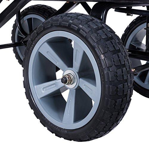 CHOOSEandBUY-Heavy-Duty-Garden-Dumper-Wagon-Carrier-Wheel-Barrow-Cart-0-2