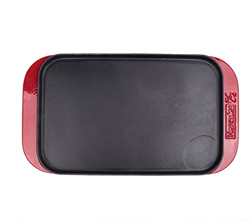 CLODY-Enamel-Double-Sided-Baking-Pan-Outdoor-Barbecue-Grill-Large-Thickening-Rectangle-0-0