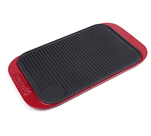 CLODY-Enamel-Double-Sided-Baking-Pan-Outdoor-Barbecue-Grill-Large-Thickening-Rectangle-0
