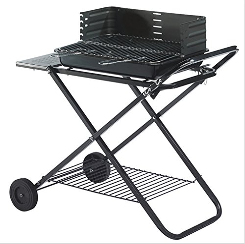 CLODY-Outdoor-Portable-Large-Stainless-Steel-Grill-Multifunction-Collapsible-Charcoal-Grill-0