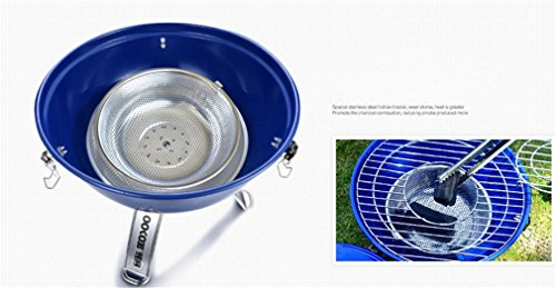 CLODY-Outdoor-Stainless-Steel-Thick-Barbecue-Charcoal-Grill-Portable-Home-Grill-0-0