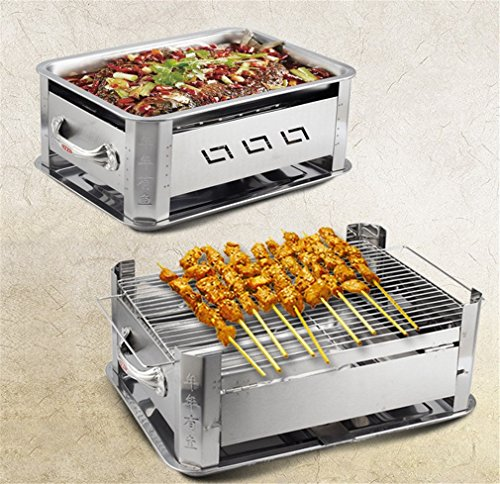 CLODY-Stainless-Steel-Charcoal-Grilled-Fish-Furnace-Alcohol-Grilled-Fish-Rack-Grilled-Fish-Plate-0-1