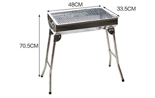 CLODY-Thicken-Stainless-Steel-Barbecue-Stove-Outdoor-Home-Portable-Camping-Barbecue-0-0