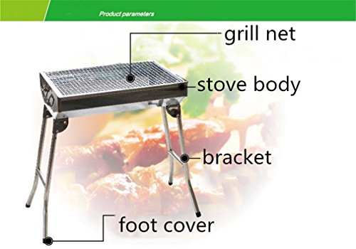 CLODY-Thicken-Stainless-Steel-Barbecue-Stove-Outdoor-Home-Portable-Camping-Barbecue-0-1