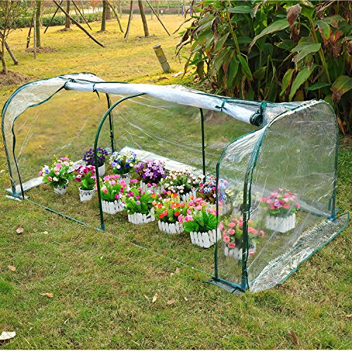 COMLZD-7x3x3-Greenhouse-Mini-Portable-Gardening-Flower-Plants-Yard-Hot-House-Tunnel-0-0