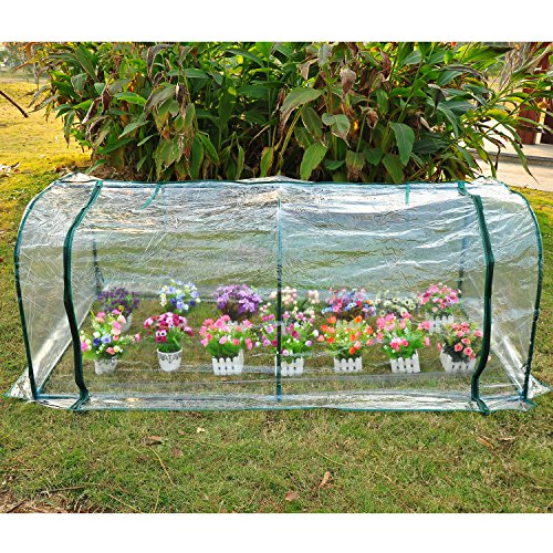 COMLZD-7x3x3-Greenhouse-Mini-Portable-Gardening-Flower-Plants-Yard-Hot-House-Tunnel-0-1