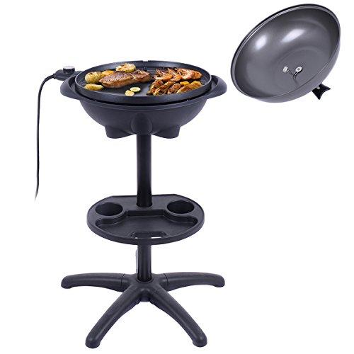 COSTWAY-VD-42178KC-CHEFJOY-1350W-IndoorOutdoor-Electric-BBQ-Grill-Black-0-1
