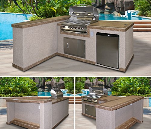 Cal-Flame-e3022-3-Piece-Island-with-32-Natural-Gas-BBQ-Grill-0-0
