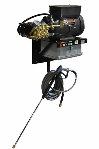 Cam-Spray-4040EWM3A-Auto-StartStop-Wall-Mount-Electric-Powered-Cold-Water-Pressure-Washer-4000-psi-50-Hose-0