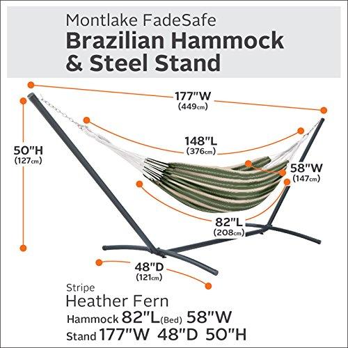 Classic-Accessories-50-024-HHENNA-RT-Montlake-Fadesafe-Brazilian-Hammock-Henna-Red-Multi-Stripe-0