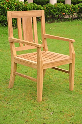 Clearance-5-Pc-Grade-A-Teak-Wood-Dining-Set-48-Round-Butterfly-Table-And-4-Osborne-Arm-Chairs-WFDSOS3-0-2