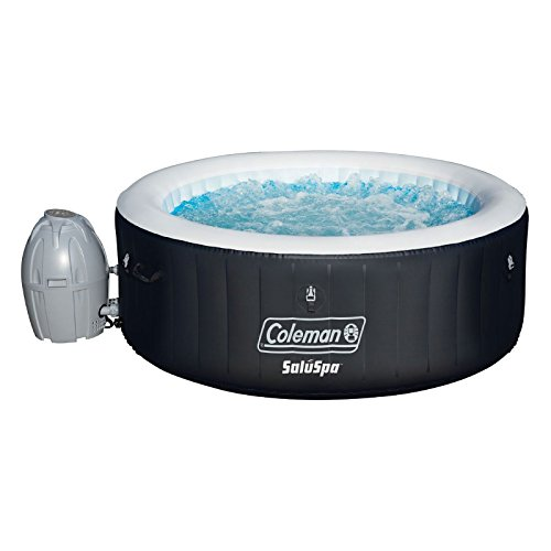 Coleman-SaluSpa-Inflatable-Hot-Tub-Bestway-Spa-Cleaning-Set-DrinkSnack-Tray-0-1