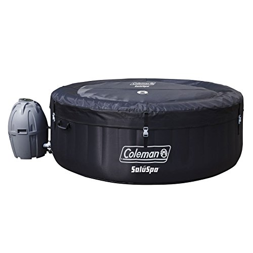 Coleman-SaluSpa-Inflatable-Hot-Tub-Bestway-Spa-Cleaning-Set-DrinkSnack-Tray-0-2