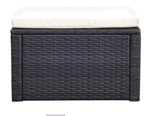 ComfyLeads-Footstool-Ottoman-Poly-Rattan-Made-with-Weather-Resistant-and-Waterproof-PE-Rattan-0-0