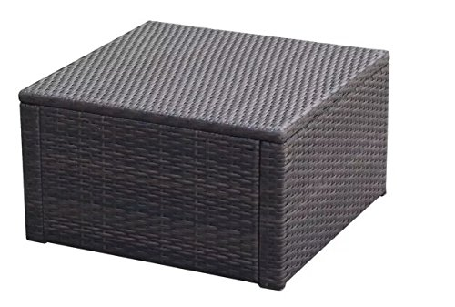 ComfyLeads-Footstool-Ottoman-Poly-Rattan-Made-with-Weather-Resistant-and-Waterproof-PE-Rattan-0-1
