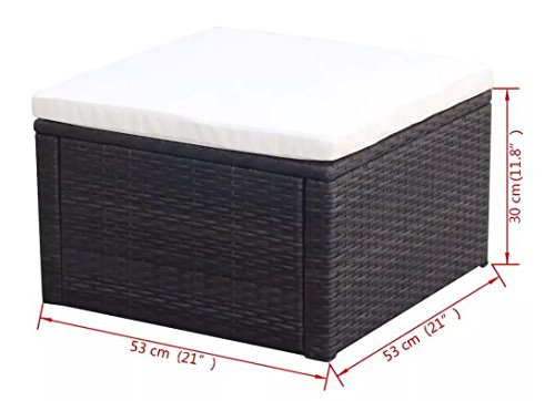 ComfyLeads-Footstool-Ottoman-Poly-Rattan-Made-with-Weather-Resistant-and-Waterproof-PE-Rattan-0-2