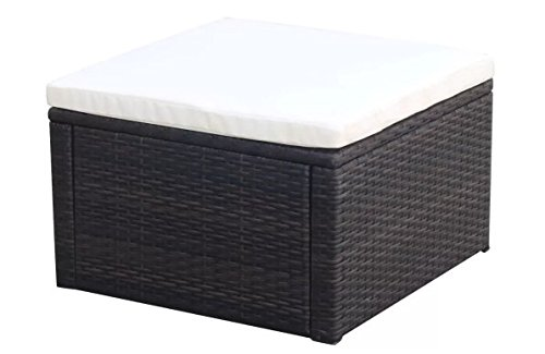 ComfyLeads-Footstool-Ottoman-Poly-Rattan-Made-with-Weather-Resistant-and-Waterproof-PE-Rattan-0