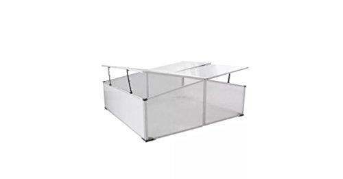 Comfyleads-Cold-Frame-Polycarbonate-Aluminum-Frame-4-Lids-3-6-x-1-4-x-3-7-108-x-41-x-110-cm-0-0