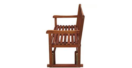 Comfyleads-Swing-Porch-Glider-Garden-Bench-Acacia-Wood-Chair-Patio-Outdoor-Seat-0-0