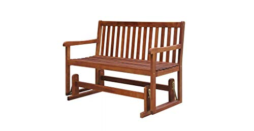 Comfyleads-Swing-Porch-Glider-Garden-Bench-Acacia-Wood-Chair-Patio-Outdoor-Seat-0