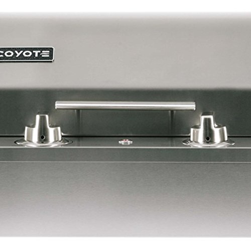 Coyote-18-Inch-Built-in-Electric-Grill-Single-Burner-Manual-Control-Ceramic-Flavorizer-Teflon-Coated-Cooking-Surface-C1EL120SM-0-1