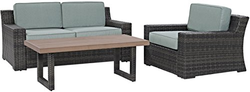 Crosley-Furniture-KO70101BR-Beaufort-3-Piece-Outdoor-Wicker-Seating-Set-with-Mist-Cushions-Brown-0