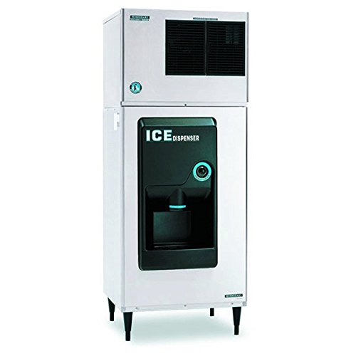 DB-200H-30-ADA-Compliant-Hotel-Sanitary-Cube-Dispenser-with-Built-In-140-lbs-Insulated-Polythylene-Lined-Ice-Storage-Bin-and-Pushbutton-Single-Auger-Agitator-Stainless-Steel-0