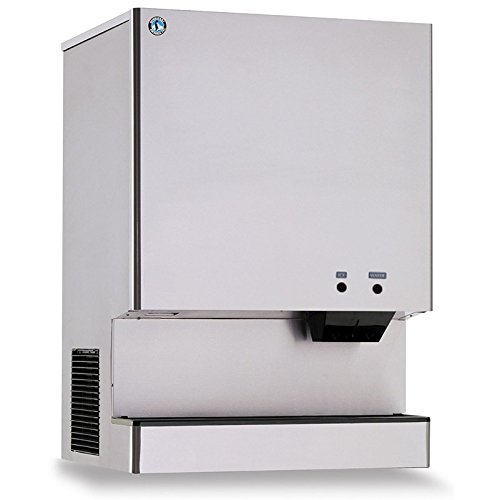 DCM-751BAH-35-Stanitary-Cubelet-Ice-Machine-and-Dispenser-with-801-lbs-Daily-Ice-Production-Built-In-70-lbs-Ice-Storage-Corrosion-Resistant-Stainless-Steel-Exterior-Advanced-CleanCycle24-Design-and-Pu-0