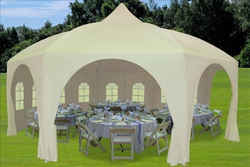 DELTA-Canopies-20×20-Octagonal-Wedding-Gazebo-Party-Tent-Canopy-Shade-0-0