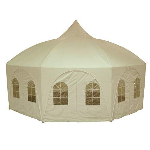 DELTA-Canopies-20×20-Octagonal-Wedding-Gazebo-Party-Tent-Canopy-Shade-0