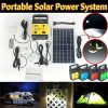 DODOING-Solar-Power-Generator-Portable-kit-Solar-Generator-System-for-Home-Garden-Outdoor-Camping-Power-Mini-DC6W-Solar-Panel-6V-9Ah-Lead-acid-Battery-Charging-LED-Light-USB-Charger-System-0