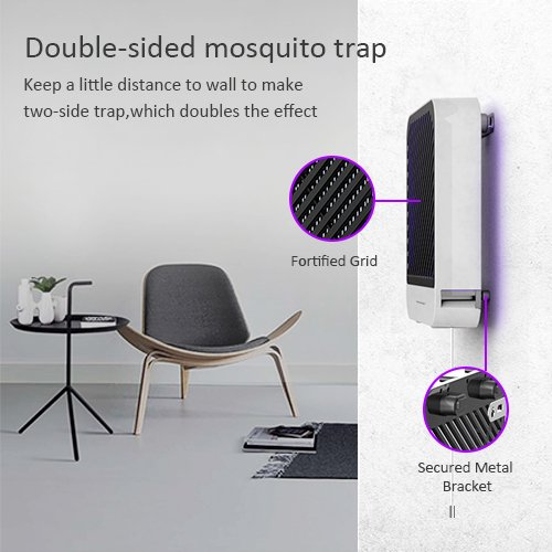 DOUHE-Bug-Zapper-Electric-Indoor-Insect-Killer-UV-LED-Light-for-Mosquito-Bug-Fly-Other-Pests-Killer-with-Easy-Pull-Switch-and-Detachable-Tray-800-sq-ft-Large-Coverage-Area-0-1