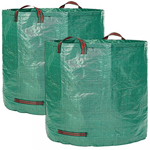 DYHQQ-5-Pack-272L-Garden-Bag-Reuseable-Heavy-Duty-Gardening-Bags-Lawn-Pool-Garden-Leaf-Waste-Bag-0