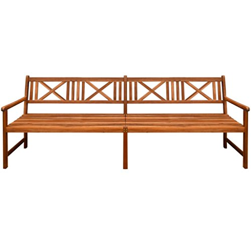 Daonanba-Lovely-Garden-Bench-Long-Outdoor-Bench-Solid-Acacia-Wood-945x22x354-Brown-0