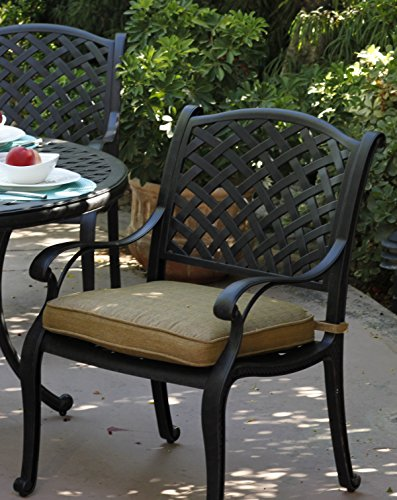 Darlee-Nassau-Cast-Aluminum-5-Piece-Dining-Set-with-Seat-Cushions-and-48-Inch-Round-Dining-Table-Antique-Bronze-Finish-0-0