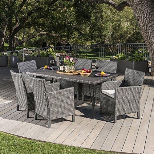 Darmel-7-Piece-Outdoor-Wicker-Rectangular-Dining-Set-with-Cushions-in-GreyDark-Grey-0