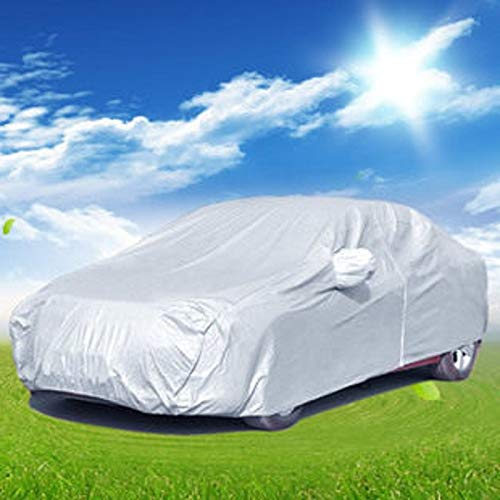 DeemoShop-Full-Car-Cover-Breathable-UV-Protection-Anti-dust-and-ScratchesFlame-Retardant-Shields-Multi-Size-for-More-car-Hood-0-0