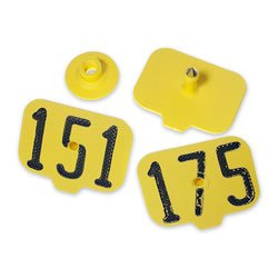 Destron-Fearing-Hog-Max-Numbered-Hog-Tags-Yellow-Numbers-151-175-C15610GN-0
