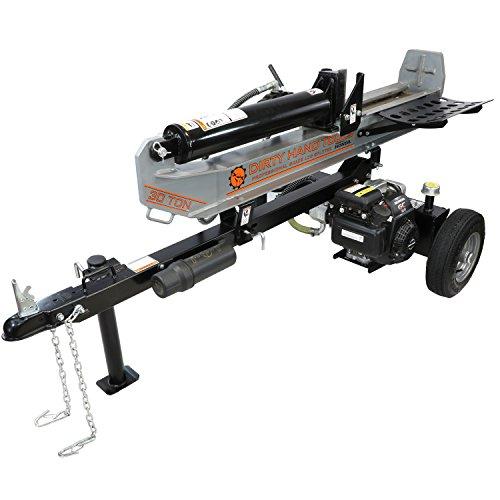 Dirty-Hand-Tools-107040-HorizontalVertical-Log-Splitter-30-Ton-with-Honda-Engine-0