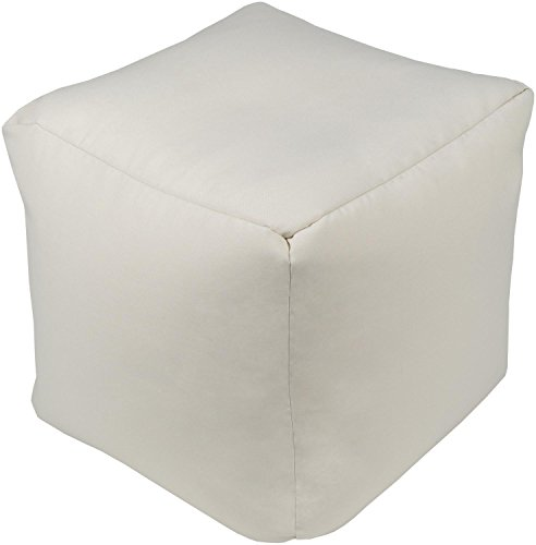 Diva-At-Home-18-Light-Gray-Cubic-Knife-Edged-Decorative-Outdoor-Patio-Pouf-Ottoman-0