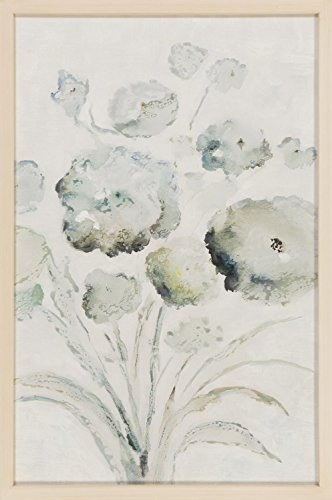 Diva-At-Home-35-Ivory-and-Green-Floral-Digitally-Printed-Rectangular-Decorative-Wall-Art-0