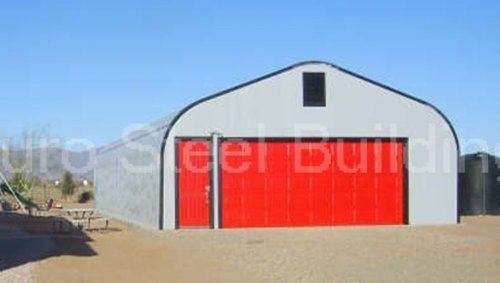 Duro-Span-Steel-G25x30x13-Metal-Building-Kit-Direct-Residential-Drive-Through-Carport-Garage-0-0