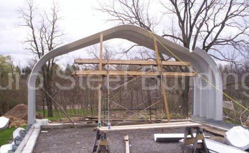 Duro-Span-Steel-G25x30x13-Metal-Building-Kit-Direct-Residential-Drive-Through-Carport-Garage-0-1