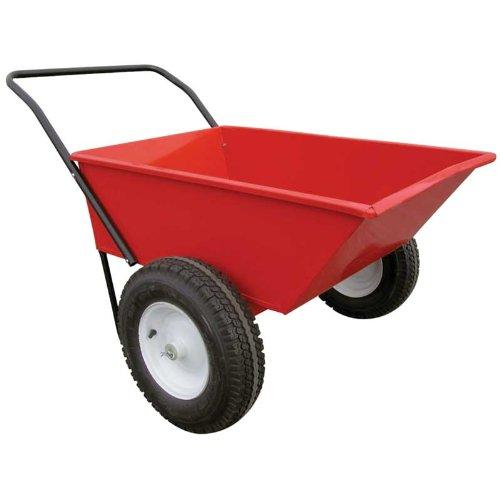 EZ-Haul-All-Purpose-Red-Metal-Wagon-0