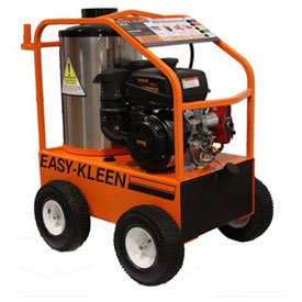 Easy-Kleen-EZO4035G-K-GP-12-Commercial-Hot-Water-Gas-Oil-Fired-Pressure-Washer-35-GPM-4000-psi-14-hp-Kohler-Direct-Drive-Electric-Start-Orange-0