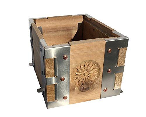 Eco-Bee-Box-Mini-Bee-Hive-1-Box-Hive-Stack-Aluminum-Brackets-0-1