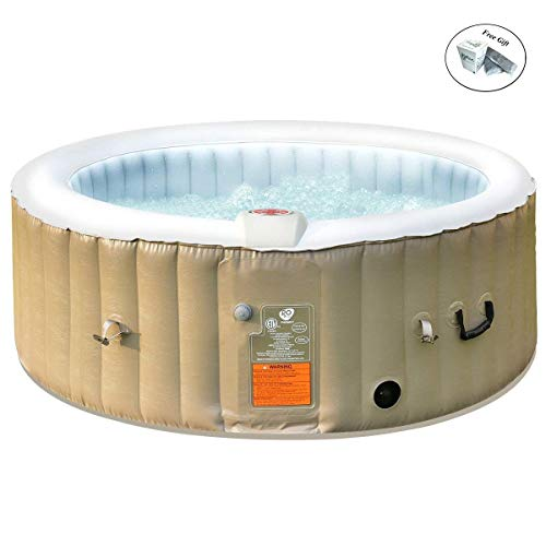Eight24hours-Portable-Inflatable-Bubble-Massage-Spa-Hot-Tub-4-Person-Relaxing-Outdoor-0